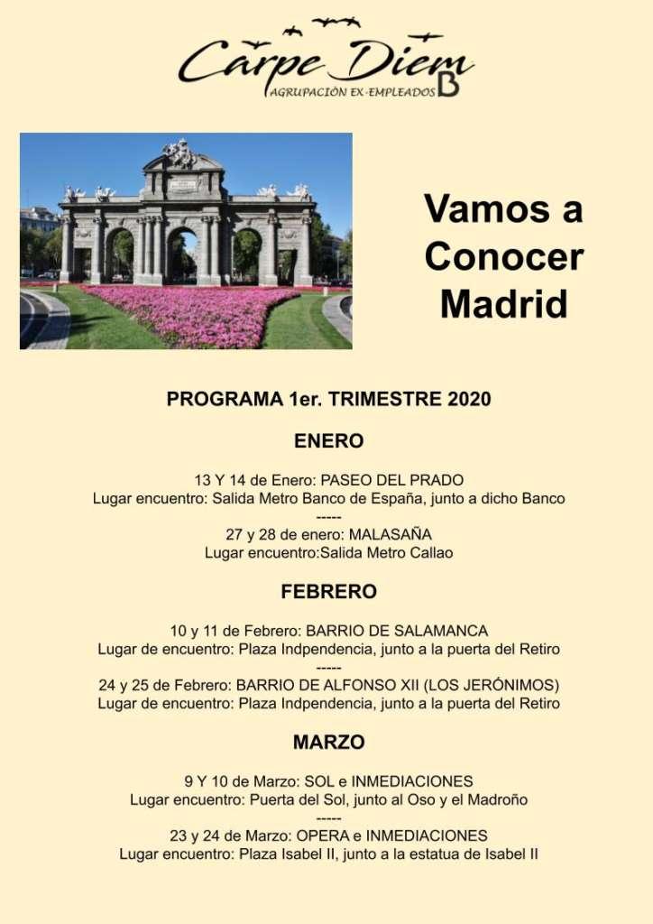 Vacantes en Vamos a Conocer Madrid 1T2020