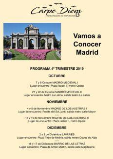 Conoce Madrid 4T2019